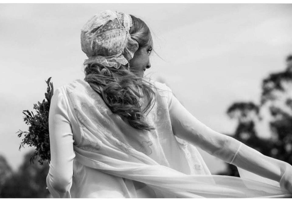 descubre en el blog de bodas wedding ideas los vestidos de novia de Ines Martin Alcalde