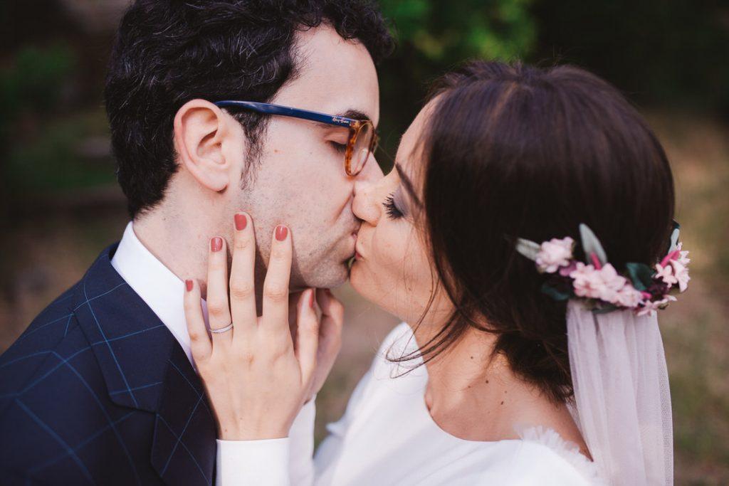 La boda con estilo de Romina y Víctor