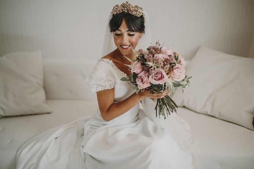 Descubre en el blog de bodas wedding ideas, la boda con estilo de Paula y ángel