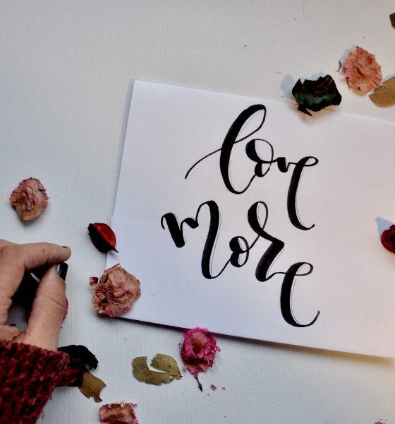 Sí, al lettering en tu boda