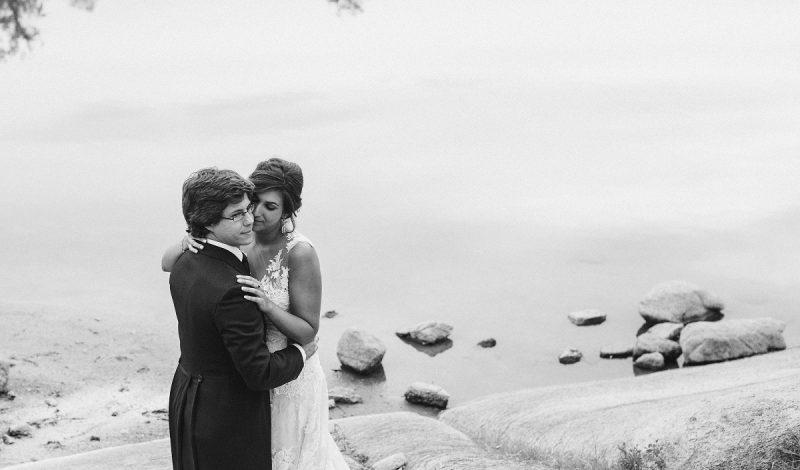 El 'Sí quiero' de Alicia y Kike en el Monasterio de El Escorial
