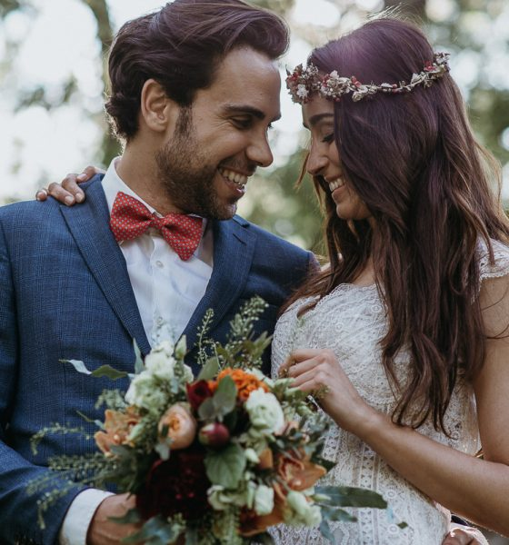Editorial: boda boho chic en el bosque