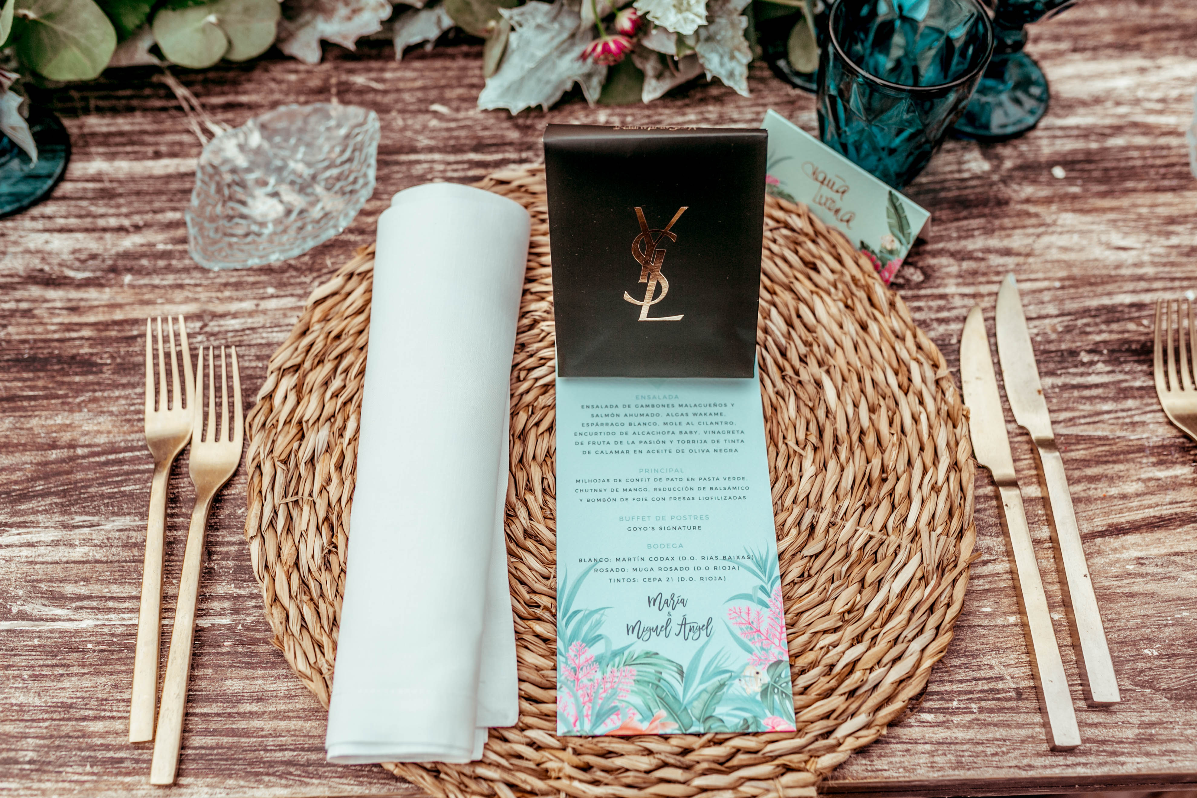 Hoy en el blog la maravillosa boda de María Tavera. Weddingideas.es