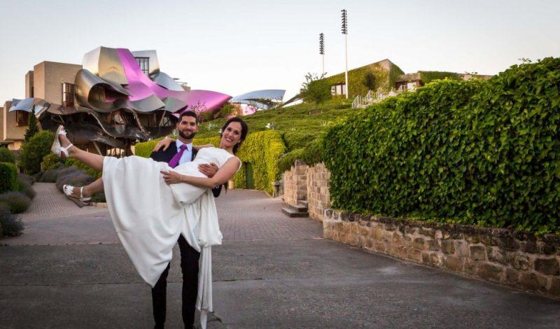 La boda de Paula y Andony en Marqués de Riscal