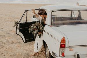 ramo de novia frondoso