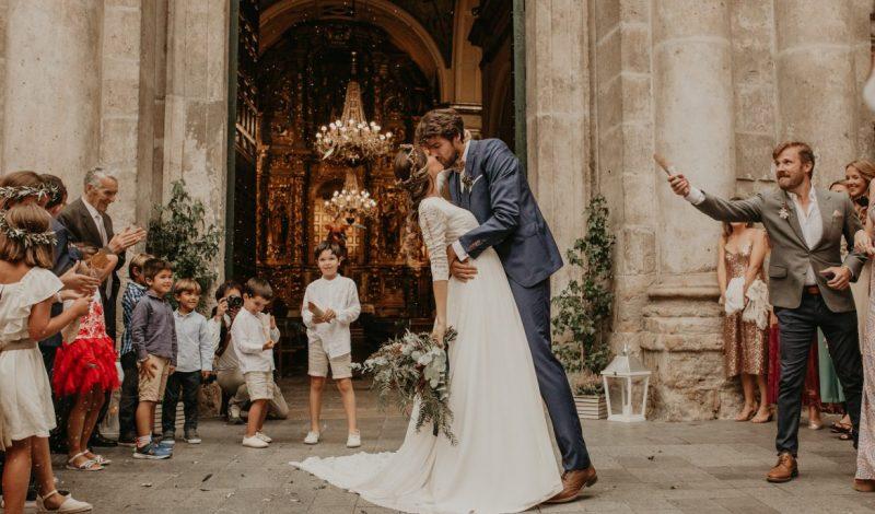 «Así fue el mejor día de nuestras vidas». La boda de Evelin y Pablo