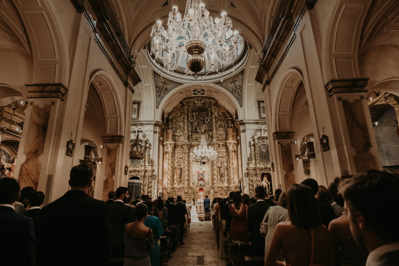 decoración boda iglesia